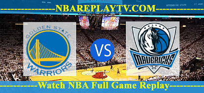 Golden State Warriors vs Dallas Mavericks