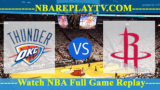 Game 2 – Oklahoma City Thunder vs Houston Rockets – Apr 19, 2017