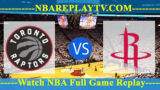 Toronto Raptors vs Houston Rockets 10 -10- 2019