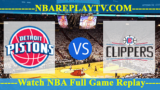 Detroit Pistons vs LA Clippers – JAN-12-2019