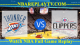 Los Angeles Clippers vs Oklahoma City Thunder 18 -11- 2019