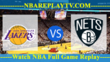 Los Angeles Lakers vs Brooklyn Nets – DEC-18-2018