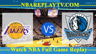Dallas Mavericks vs Los Angeles Lakers – Dec 29, 2016