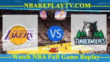 Minnesota Timberwolves vs Los Angeles Lakers – Sep 30, 2017