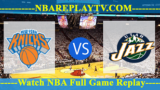 Utah Jazz vs New York Knicks – MAR-20-2019