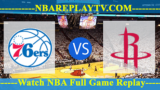 Houston Rockets vs Philadelphia 76ers – JAN-21-2019