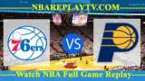Indiana Pacers vs Philadelphia 76ers – DEC-14-2018