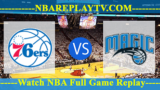 Philadelphia 76ers vs Orlando Magic – MAR-25-2019