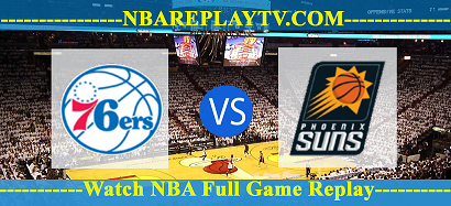 Phoenix Suns vs Philadelphia 76ers  11 Aug 2020 NBA Replays