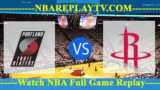Portland Trail Blazers vs Houston Rockets – DEC-11-2018