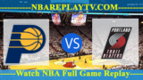 Indiana Pacers vs Portland Trail Blazers – MAR-18-2019