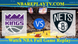 Sacramento Kings vs Brooklyn Nets – JAN-21-2019