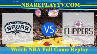 San Antonio Spurs vs LA Clippers – DEC-29-2018