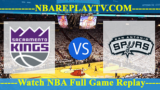 San Antonio Spurs vs Sacramento Kings – Oct 02, 2017