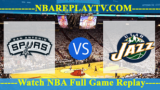 NBA SL San Antonio Spurs vs Utah Jazz 3, 2019