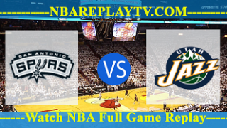 Utah Jazz vs San Antonio Spurs – DEC-09-2018