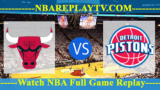 Detroit Pistons vs Chicago Bulls – July 14, 2018