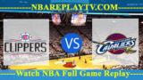 LA Clippers vs Cleveland Cavaliers – MAR-22-2019