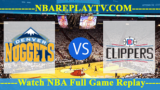 LA Clippers vs Denver Nuggets – JAN-10-2019
