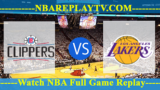 LA Clippers vs Los Angeles Lakers – July 12, 2018