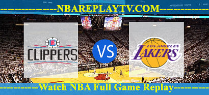 Los Angeles Lakers vs LA Clippers – APR-05-2019