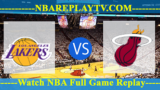 SUMMER LEAGUE 2019 Miami Heat vs Los Angeles Lakers July 7, 2019