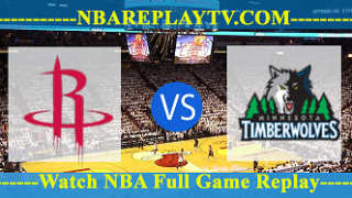 Minnesota Timberwolves vs Houston Rockets – Apr 12, 2017