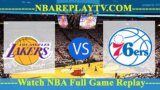Philadelphia 76ers vs Los Angeles Lakers – July 8, 2018