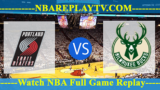 NBA SL 2019 Portland Trail Blazers vs Milwaukee Bucks July 12, 2019