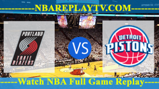 Portland Trail Blazers vs Detroit Pistons – MAR-30-2019