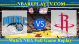 Houston Rockets vs Orlando Magic – JAN-13-2019