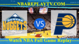 Denver Nuggets vs Indiana Pacers – MAR-24-2019