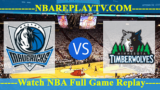 Dallas Mavericks vs Minnesota Timberwolves – JAN-11-2019