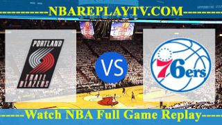 Philadelphia 76ers vs Portland Trail Blazers – DEC-30-2018