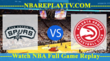 Atlanta Hawks vs San Antonio Spurs – APR-02-2019