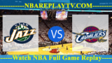 Utah Jazz vs Cleveland Cavaliers – JAN-04-2019