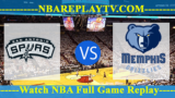 San Antonio Spurs vs Memphis Grizzlies – Apr 15, 2017