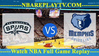 NBA SL Memphis Grizzlies vs San Antonio Spurs July 2, 2019