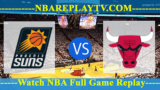 Chicago Bulls vs Phoenix Suns – MAR-18-2019
