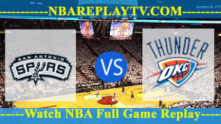 San Antonio Spurs vs Oklahoma City Thunder – JAN-12-2019