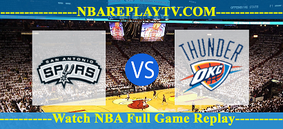 NBA Preseason San Antonio Spurs vs Oklahoma City Thunder – 12 Dec 2020