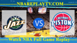 Detroit Pistons vs Utah Jazz – JAN-14-2019