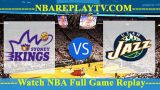 Sydney Kings vs Utah Jazz – Oct 02, 2017