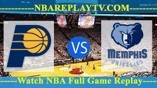 Indiana Pacers vs Memphis Grizzlies – JAN-26-2019