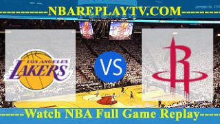 Los Angeles Lakers vs Houston Rockets – JAN-19-2019